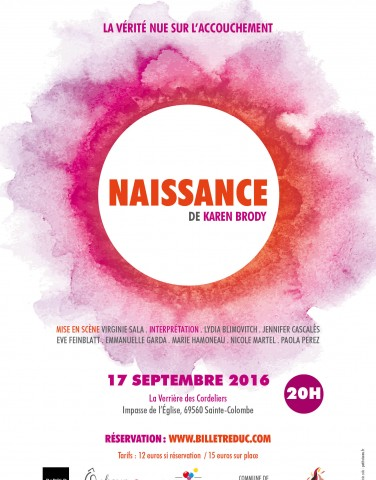 naissance - spectacle