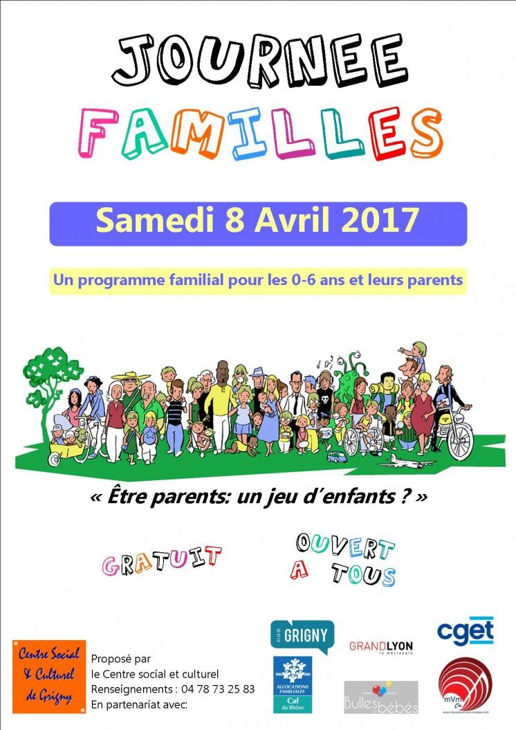 affiche journée familles