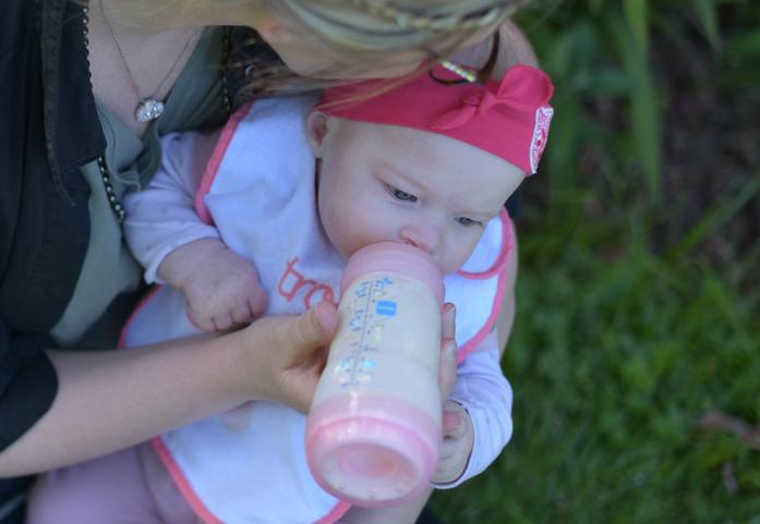 l'hydratation des bebes