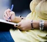 femme qui écrit - Copie